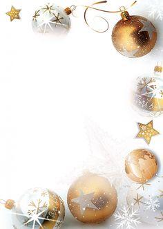 Christmas letterhead: letterheads with many motifs - Oscar Wallin Unique Christmas Trees, Christmas Frames, Merry Christmas Card, Noel Christmas, Christmas Signs, Christmas Pictures, Winter Christmas, Christmas Decorations, Christmas Wallpaper Free