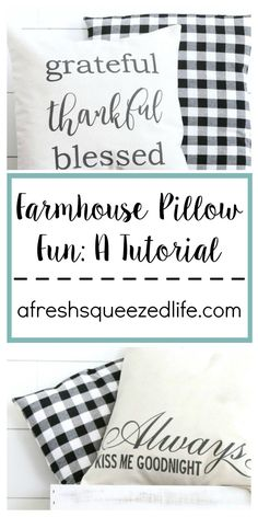 Hello! I have been engaging in some more Farmhouse Pillow Fun! Yes, I am addicted to making pillow covers these days. They are simple to make and oh-so cute. You can customize these any way you want to, and place them on your bed or your couch or a chair. Or a gift for a …