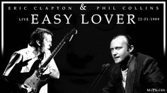 Phil Collins & Eric Clapton - Easy Lover (Live in 1989)