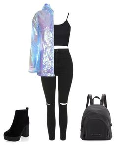 """Untitled #219"" by fweakydarcy on Polyvore featuring Topshop, New Look and Kendall + Kylie"