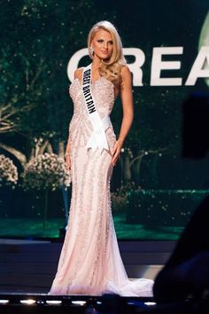 Miss Universe 2014GRACE LEVY...Great Britain Evening Gown