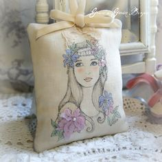 Lavender Lady decoration | Flickr - Photo Sharing!