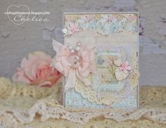 Crafting Life's Pieces: Today is for you - shabby chic card