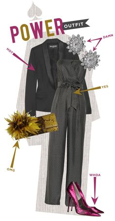 I would love to rock this outfit... Jumpsuit is a plus!