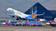 Allegiant 757-200 LAS Takeoff