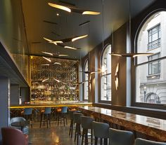 2014 Restaurant & Bar Design Award Winners,Restaurant/Bar in a Heritage Building: Christopher's Bar (London / De Matos Ryan