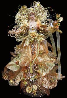 44CM TREE-TOPPER ANGEL GOLD, Christmas Shack
