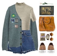 """""""book club"""" by imennett ❤ liked on Polyvore featuring T By Alexander Wang, Converse, Olivia Pratt, Sandra Cadavid and Laura Cole"""