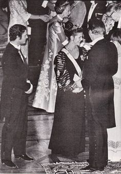 Queen Silvia wore this tiara in 1976.