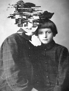 Lost fragments- Failed memories on Behance Glitch from my childhood photograph Glitch Art, Photo, Glitch, Photomontage, Portraiture, A Level Art, Photoshop, Art, Portrait