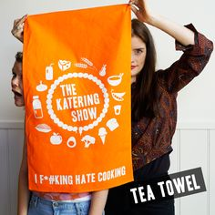 The shop of a food intolerant and an intolerable foodie! Official merchandise for The Katering Show! Tea Towels, Reusable Tote Bags, Shopping, Tops, Women, Dishes, Fashion, Moda, Fashion Styles