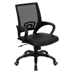 Flash Furniture Mid-Back Mesh Computer Chair with Seat