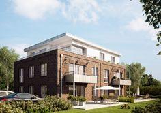 #Viebrockhaus #Mehrfamilienhaus mit fünf Wohneinheiten #Gartenansicht