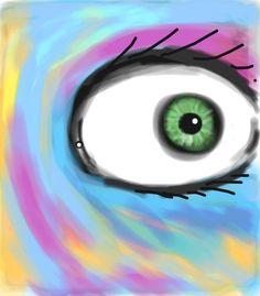 """Eye"" by Morgan H. #Colorized #Sketch.  http://www.colorized.by/i/URYGncCPswCwAABB/"