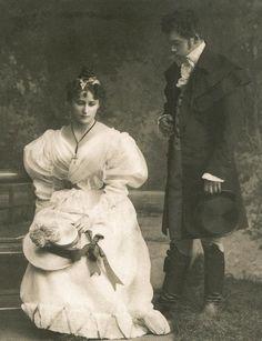 Ella and Nicholas perfoming Eugene Onegin