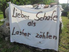 Genau! Gesehen in Nordheim/Main.