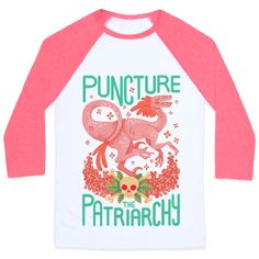 Puncture The Patriarchy Baseball