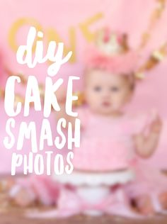 DIY Cake Smash Photos for under 15$ — The Prince and the Pitbulls