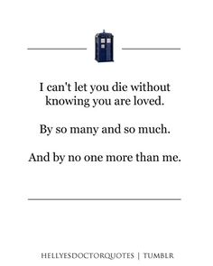 06x13: The Wedding of River Song. I cry every time. Every. Time.