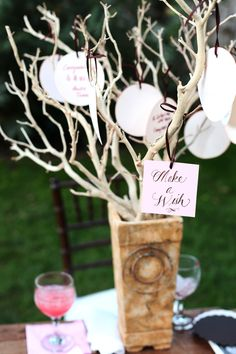 How to make a wishing tree for your wedding | English Wedding BlogEnglish Wedding Blog