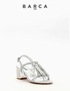 COMPOSIZIONE FONDO GOMMA, SOLETTO VERA PELLE  CARATTERISTICHE Altezza #tacco 5 cm  COLORE #ARGENTO  MATERIALE #PELLE #heels #sandali #fashion #moda #fashionblogger #fashionblog #tacchi