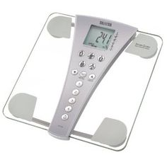 I am going to get one of these for my business! They would create so much more value!! Here is what they bring to the table...... The Tanita scale can report body weight, body fat percentage, muscle mass, total body water, visceral fat, bone mass and basal metabolic rate, but the only values it actually measures are weight and total body water. It then calculates the other values based on known relationships between body substances.  Taken from livestrong.com