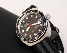 Enjoy Aquadive Vintage NOS Diver Watch