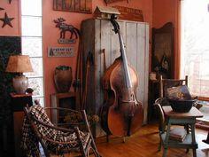 Wonderful old upright bass