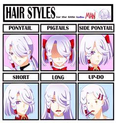 repost from tumblr  hair style meme featuring a-drei from kakumeiki valvrave   enjoy~  art (c) me sowelunee