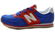the latest 2b555 a38cf Dames New Balance (NB) 420 Suede Rood Wit Goud Schoenen,Fashion sneakers  let sports distinctive.