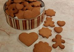 többet Baby Food Recipes, Sweet Recipes, Cookie Recipes, Ginger Cookies, Hungarian Recipes, Baking And Pastry, Christmas Sweets, Winter Food, Holiday Baking