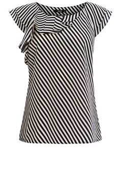 Stripe Shell Top : Oasis