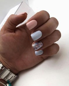 Is it accurate to say that you are one of those whose claim regular nails never appear to develop? The greater part of us don't get the chance to have wonderful, long and solid normal nails. My own particular nails for instance are not solid. Classy Nails, Stylish Nails, Trendy Nails, Cute Nails, Simple Gel Nails, Summer Acrylic Nails, Best Acrylic Nails, Hair And Nails, My Nails