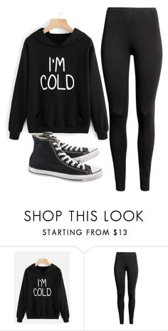 """Untitled #285"" by itsayak on Polyvore featuring Converse"