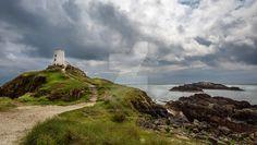 Llawddwyn Island Anglesey by PaulMossphotography.deviantart.com on @DeviantArt