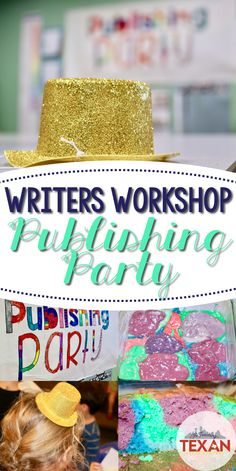 Find out how to plan a publishing party that will wow students from Kindergarten, First Grade, and beyond.  Ideas and strategies to make your Writers Workshop a HIT!