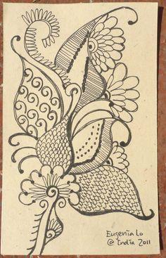 Henna Pattern (2)