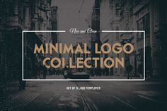 Minimal logo collection by Optimistic shop on Creative Market