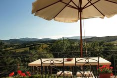 The view from the Girasole apartment
