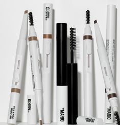 Makeup News: Makeup By Mario Releases New Brow Pencils and Brow Gel Makeup By Mario has just released their new brow makeup products: the new Makeup By Mario Master Blade Brow Pencils and Master Hold Brow Gel. The new Makeup By Mario Brow Pencils are available in 8 different shades. They feature an angled tip, a slide-up retractable applicator, and a brow spoolie brush on the end. They are designed to be used with the new Makeup By Mario Brow Gel... Makeup News, Brow Gel, Beauty News, Beauty Industry, Makeup Products, Brows, Blade, Hold On, Mario
