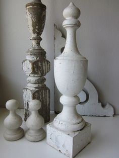 Large Antique Finial by housewarming101 on Etsy, $125.00