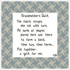 Image result for Quilt Label Sayings
