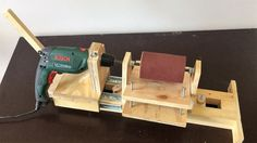 4 in 1 Drill Press Build Pt3 : Thickness Sander / 4 in 1 Sütun Matkap 3....