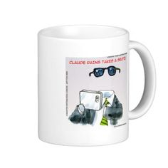 #Funny #ClaudeRains Takes A #Selfie #mug by @LTCartoons #zazzle #invisibleman #humor #gift #sale #coffee
