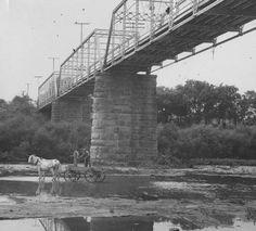 Salt River Bridge, Shepherdsville, Kentucky, 1936. :: Herald-Post Collection