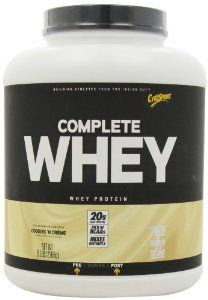 CytoSport Complete Whey Protein Cookies and Creme 5 Pound *** Be sure to check out this awesome product. (This is an affiliate link) Pre Workout Nutrition, Diet And Nutrition, Protein Drink Mix, Gain Weight Fast, Protein To Build Muscle, Whey Protein Powder, Protein Supplements, Protein Cookies, Rome