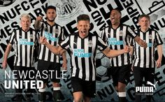 bc1bbe30b6e Newcastle United 17-18 Home Kit Released - Footy Headlines Old Shirts