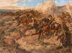 Ivor Henry Thomas Hele. The Charge at Beersheba