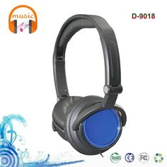 High quality stereo foldable headset