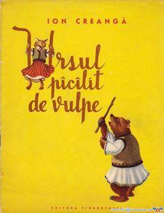 Ursul pacalit de vulpe My Memory, Children's Book Illustration, Printed Materials, Ursula, My Dad, Romania, Card Games, Childhood Memories, Winnie The Pooh